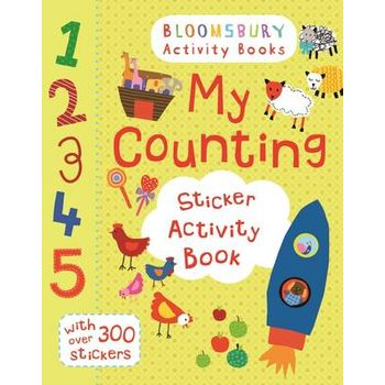 MY COUNTING STICKER ACTIVITY BOOK