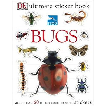 RSPB Bugs Ultimate Sticker Book