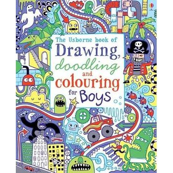 DRAWING, DOODLING AND COLOURING: BOYS