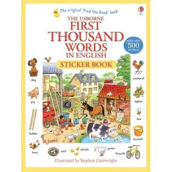 FIRST THOUSAND WORDS IN ENGLISH STICKER