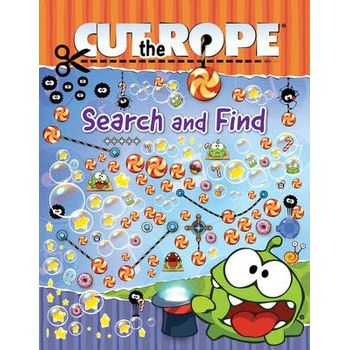 CUT THE ROPE SEARCH AND FIND BOOK