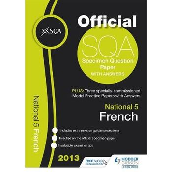 SQA SPECIMEN PAPER NATIONAL 5 FRENCH AND