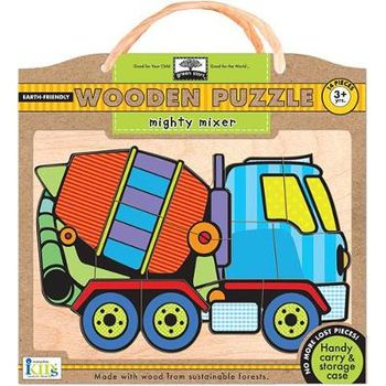 Green Start Wooden Puzzles