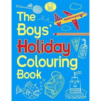 BOYS HOLIDAY COLOURING BOOK