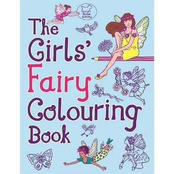 GIRLS FAIRY COLOURING BOOK