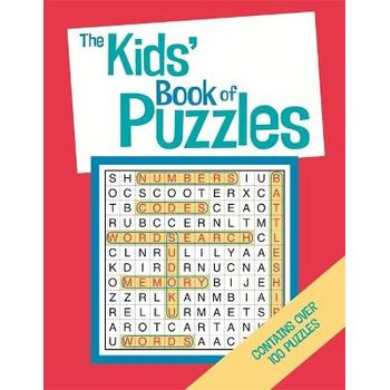 KIDS BOOK OF PUZZLES