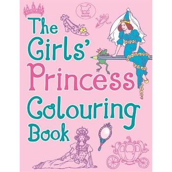 GIRLS PRINCESS COLOURING BOOK