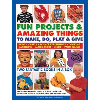 FUN PROJECTS & AMAZING THINGS TO MAKE, D
