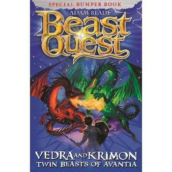 Vedra and Krimon Twin Beasts of Avantia