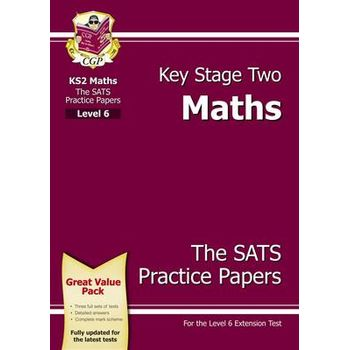 KS2 MATHS SATS PRACTICE PAPERS – LEVEL 6