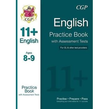 11+ ENGLISH PRACTICE BOOK WITH ASSESSMEN