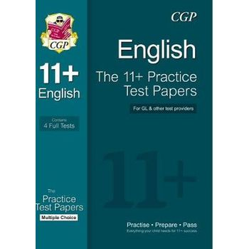11+ ENGLISH PRACTICE TEST PAPERS: MULTIP