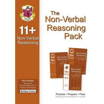 11+ NON-VERBAL REASONING BUNDLE PACK – M