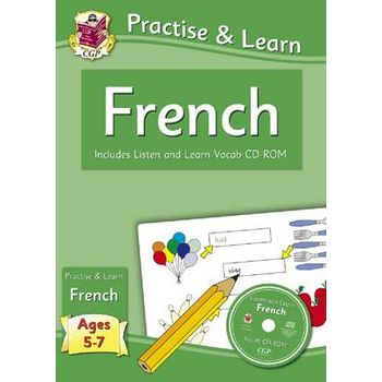 PRACTISE & LEARN: FRENCH (AGES 5-7) – WI