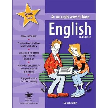SO YOU REALLY WANT TO LEARN ENGLISH BOOK