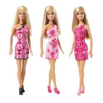 Κούκλα Barbie Μοντέρνα Φορέματα (1 Τεμάχιο)