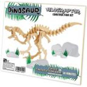 Ξύλινη κατασκευή Dinosaur Construction Kit Velociraptor