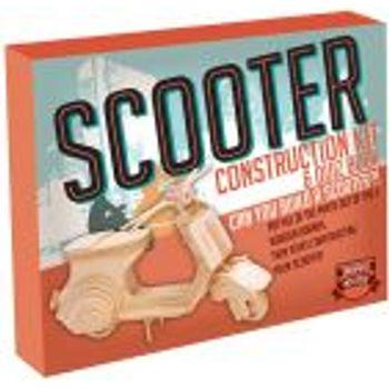 Ξύλινη Κατασκευή Scooter Construction Kit & Quiz Book