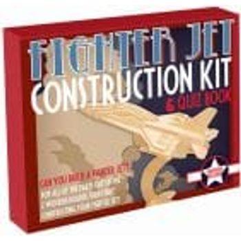 Ξύλινη Κατασκευή Fighter Jet Construction Kit & Quiz Book