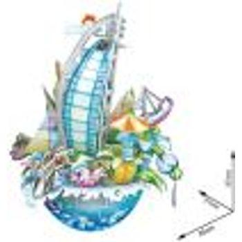 3D Παζλ Dubai Cityscape (57 Κομμάτια)