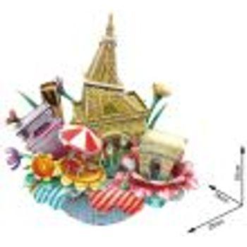 3D Παζλ Paris Cityscape (74 Κομμάτια)