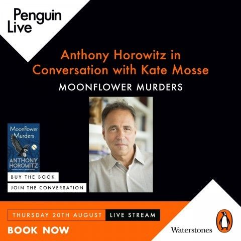 Penguin Live - In Conversation with Kate Mosse - Moonflower Murders