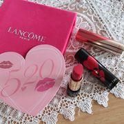 [彩妝] Lancôme 520限量版 ❤ L'Absolu Lipstick「我愛你」唇膏。...