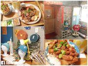 【食記】觀塘工廈的台式味道.小時光Scoool Cafe校園風格裝潢.重拾上...