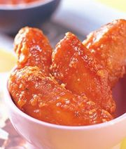 New York spicy chicken wings