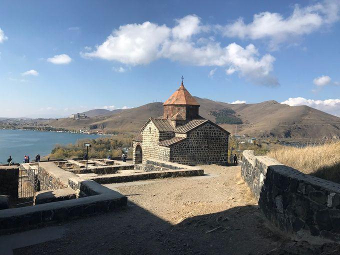 亞美尼亞第三個 Tour - Lake Sevan 塞凡湖