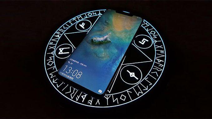 【科技好物】魔法陣無線充電盤 限量版 發動無線快充之絕技
