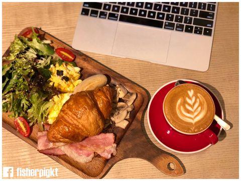 【運動店都有Café?】Blue Place Cafe.運動用品店內的西環樓上 Café