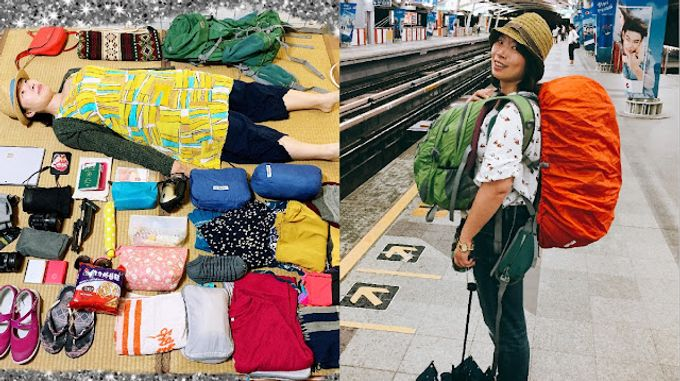 【工具】整理7公斤揹包去走一個半月的歐亞51天,行李整理注意事項