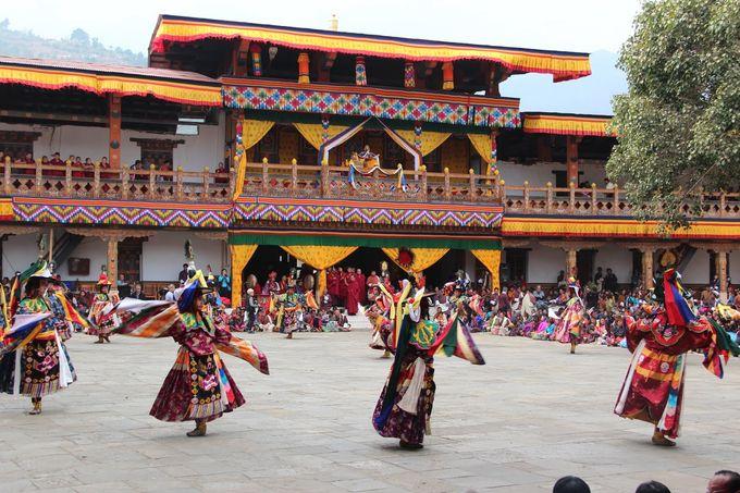 Venus 不丹之旅第8回 - 普那卡策秋節慶 Punakha Tshechu