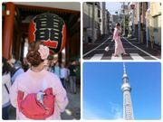 〈日本東京〉 假裝一天日本妹 | 必影街景推介 | 淺草愛和服