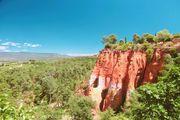 ■ 南法自駕遊・魯西隆Roussillon紅石城 [法國南部]