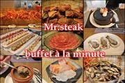 限時光速 MR.STEAK和牛海鮮自助餐 蟹腳 和牛生蠔任食 數十款甜品任選!