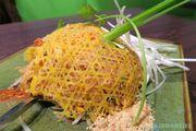[KJFOODLIFE 旺角] 格格蛋包金邊粉 超大隻鮮蝦刺身