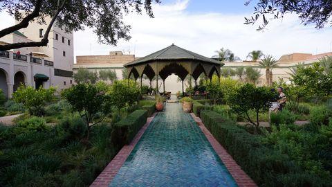 【摩洛哥】馬拉喀什的秘密花園|Le Jardin Secret|Le Jardin