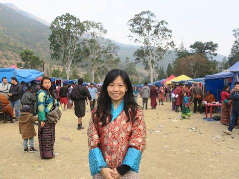Venus 不丹之旅第8回 - 普那卡策秋市集 Punakha Tshechu Market