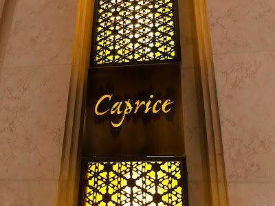 Caprice:臨急臨忙的一餐米芝蓮三星