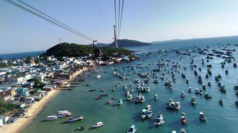 【越南 | 富國島】360度無敵海景! 世界最長跨海纜車 Sunworld
