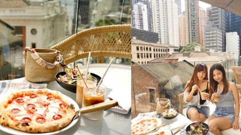 猶如置身歐洲秘境 望住大館嘆下午茶 Babacio Hong Kong