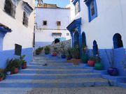 [摩洛哥景點] 極夢幻!舍夫沙萬Chefchaouen藍色小鎮 走入無盡頭的藍