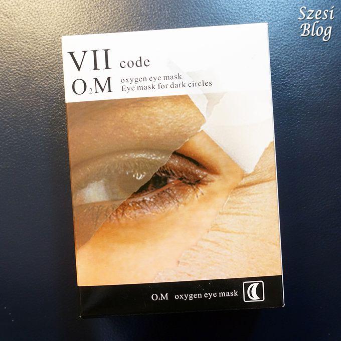 【護膚】淡化黑眼圈全紀錄|VIIcode淡化黑眼圈氧眼貼
