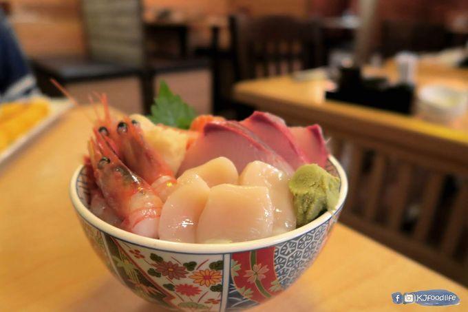 [KJFOODLIFE 銅鑼灣] 銅鑼灣地下居酒屋 厚切新鮮魚生飯