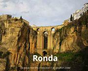 西班牙隆達(Ronda)懸崖古城,危險與死亡氣息的浪漫