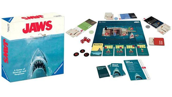 經典驚悚電影《大白鯊》推出桌遊:Jaws Board Game