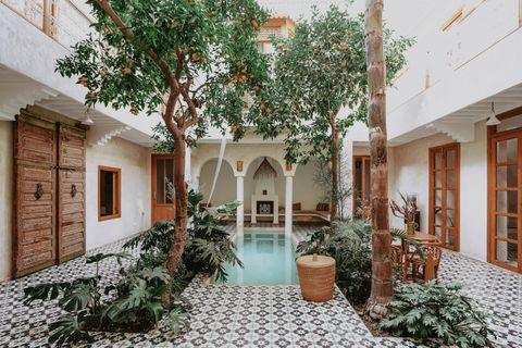 【摩洛哥住宿】住進傳統民宿|Riad L'atelier 鬧市中的綠洲