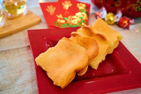 賀年糕點 - 香焗黃金椰汁年糕